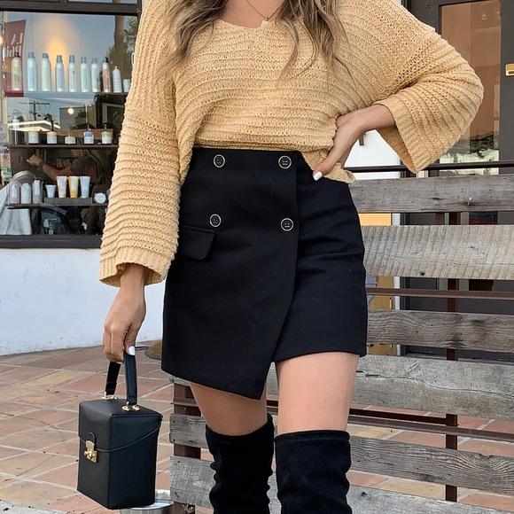 Chicwish Dresses & Skirts - Black Skirt